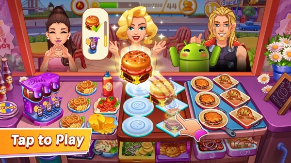 Crazy Cooking: Craze Restaurant Chef Cooking Games Android Game Image 4