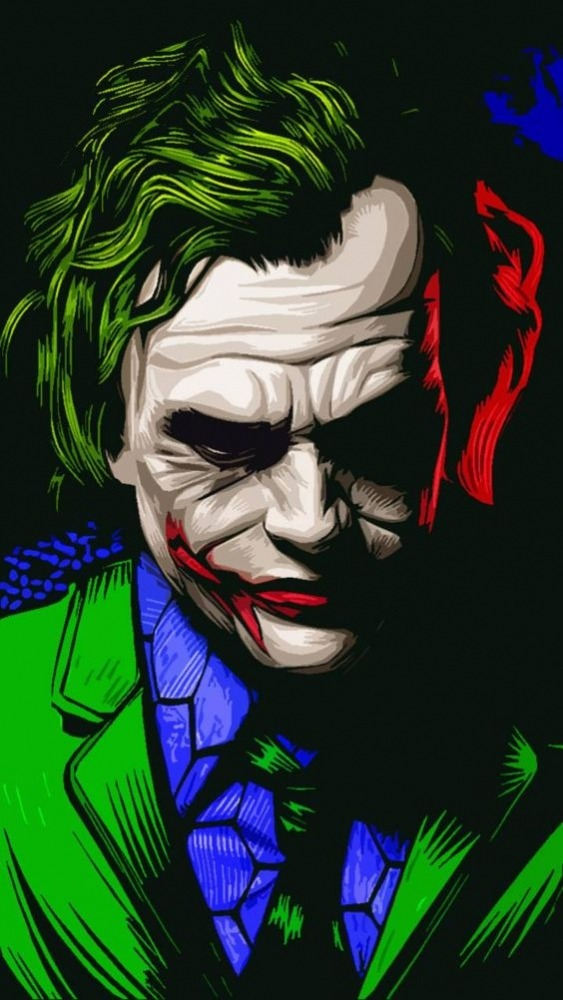 Joker Mobile Phone Wallpaper Image 1