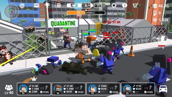 MAD TOWN RAID Android Game Image 3