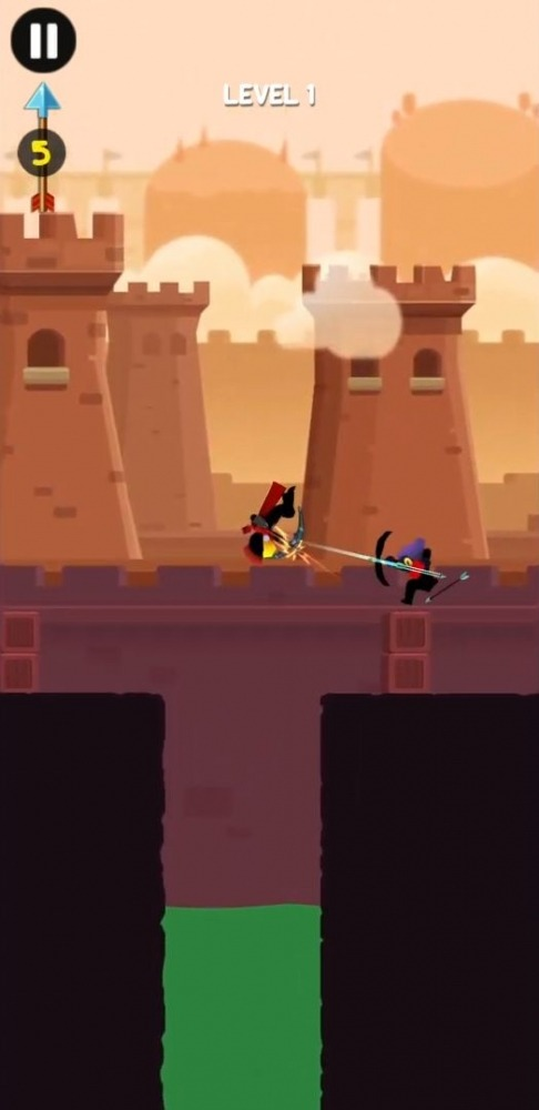 Stick Heroes: Arrow Master Android Game Image 1