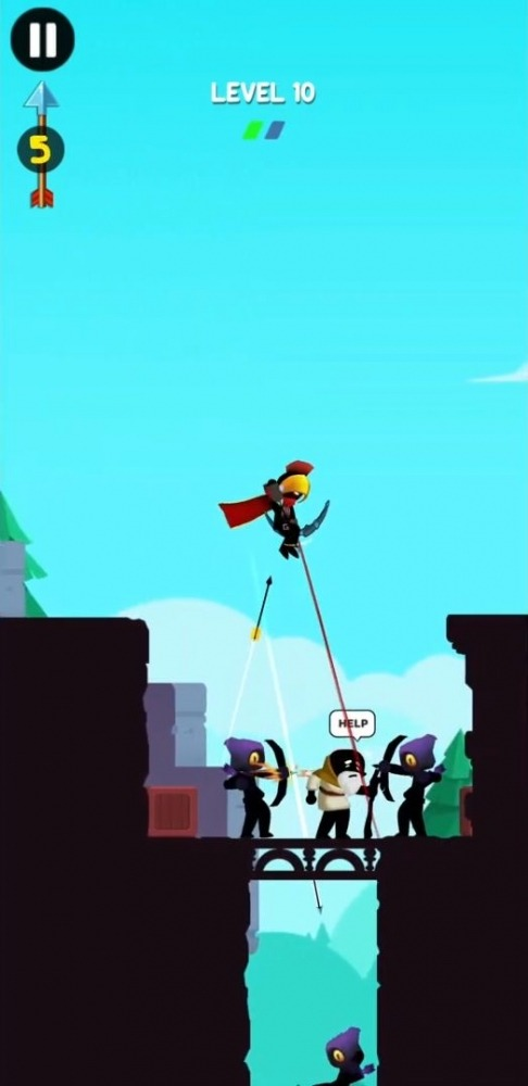 Stick Heroes: Arrow Master Android Game Image 2