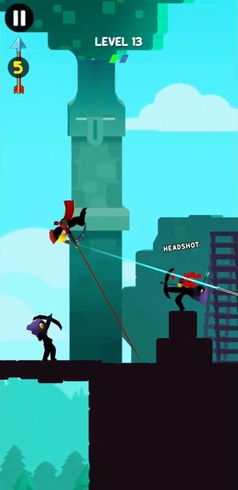 Stick Heroes: Arrow Master Android Game Image 3