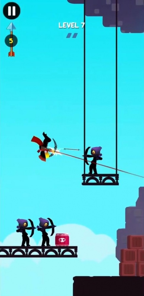 Stick Heroes: Arrow Master Android Game Image 4