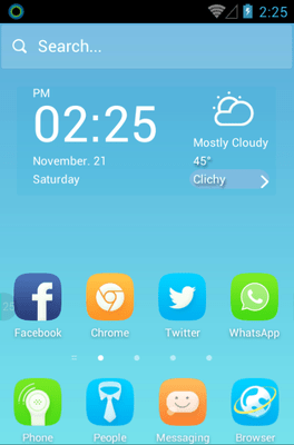 Cape No.7 Hola Launcher Android Theme Image 1