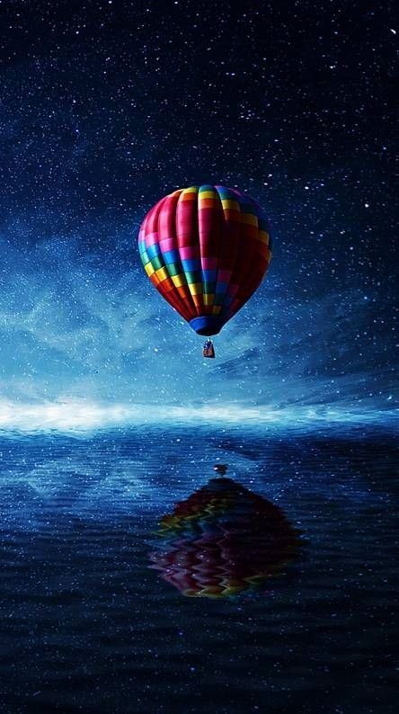 Air Balloon Mobile Phone Wallpaper Image 1