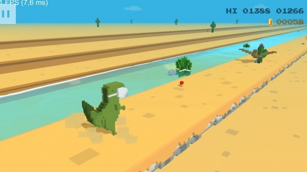 Dino 3D Android Game Image 1