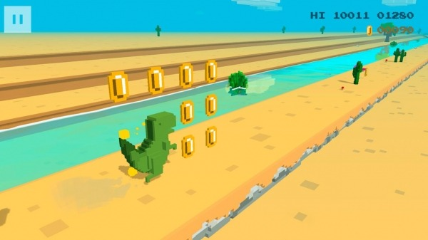 Dino 3D Android Game Image 2