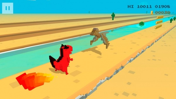 Dino 3D Android Game Image 4