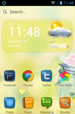 My Heart Belongs To You Hola Launcher Android Theme Image 1