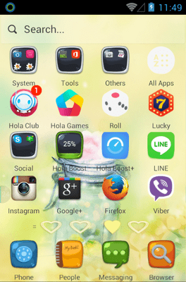 My Heart Belongs To You Hola Launcher Android Theme Image 2