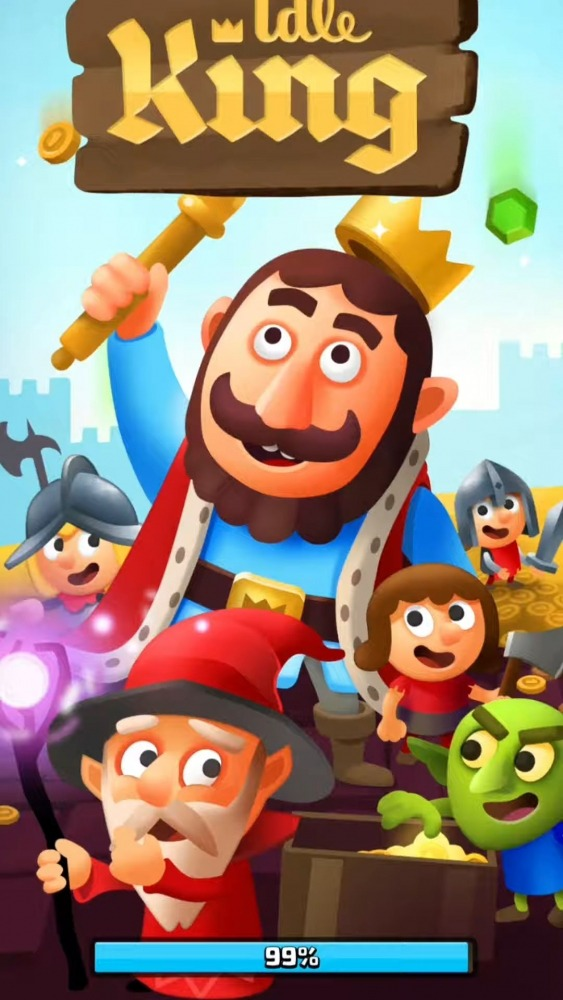 Idle King Tycoon Clicker Android Game Image 1