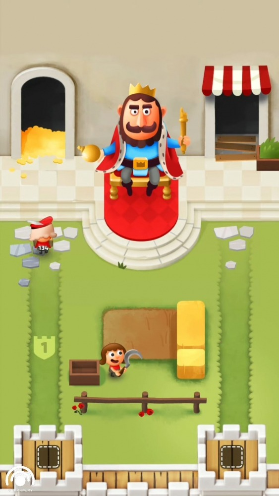 Idle King Tycoon Clicker Android Game Image 2