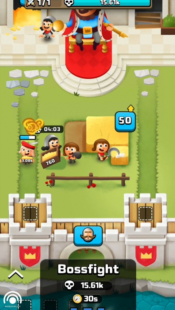 Idle King Tycoon Clicker Android Game Image 4
