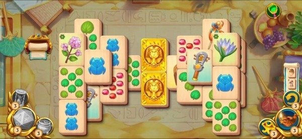 Pyramid Of Mahjong: A Tile Matching City Puzzle Android Game Image 1