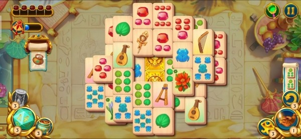 Pyramid Of Mahjong: A Tile Matching City Puzzle Android Game Image 2