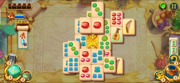 Pyramid Of Mahjong: A Tile Matching City Puzzle Android Game Image 3