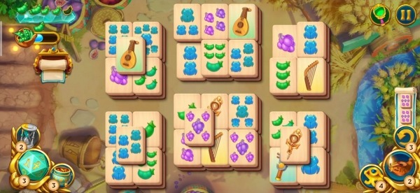 Pyramid Of Mahjong: A Tile Matching City Puzzle Android Game Image 4