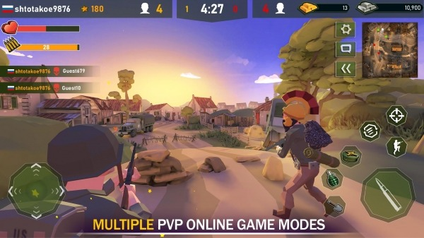 War Ops: WW2 Action Games Android Game Image 2