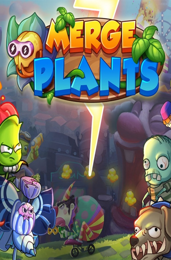 Merge Plants: Zombie Defense Android Game Image 1