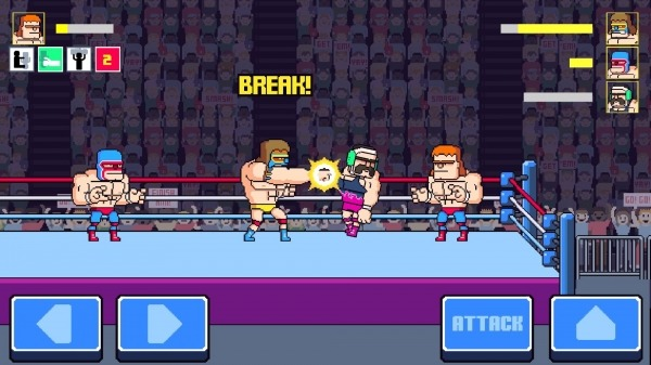 Rowdy City Wrestling Android Game Image 1