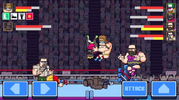 Rowdy City Wrestling Android Game Image 2