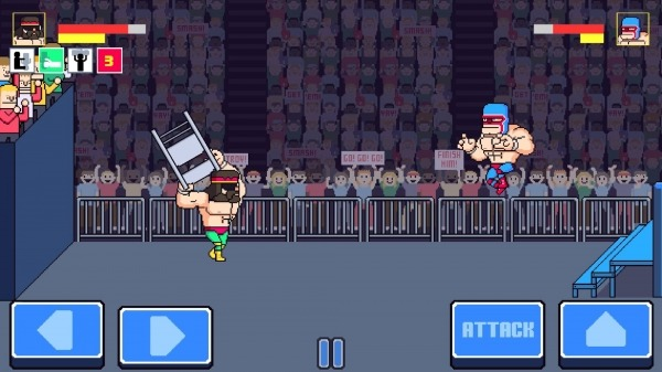 Rowdy City Wrestling Android Game Image 3