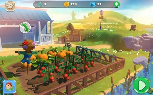 Big Farm: Home & Garden Android Game Image 2