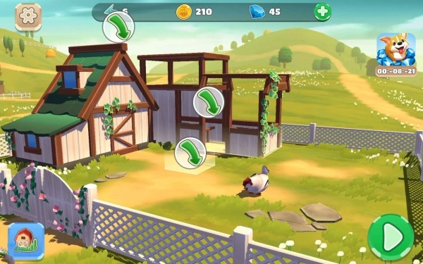Big Farm: Home & Garden Android Game Image 3