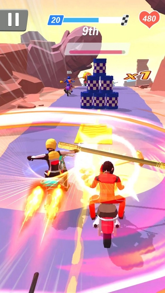 Racing Smash 3D Android Game Image 2