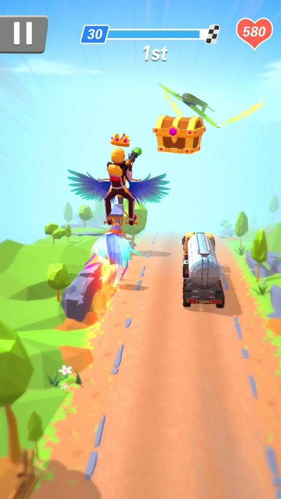 Racing Smash 3D Android Game Image 4