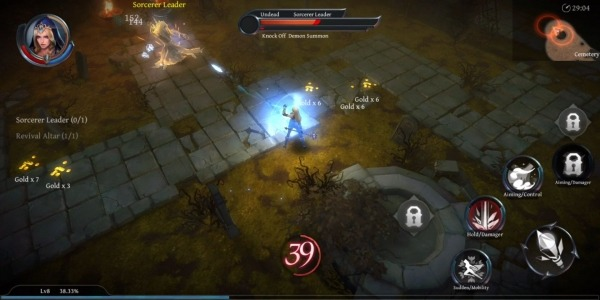 Raziel: Dungeon Arena Android Game Image 3