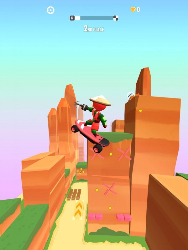 Swing Loops - Grapple Hook Race Android Game Image 4