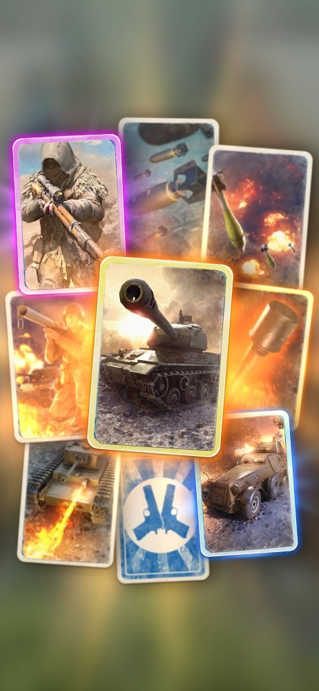 Heroes Of War: WW2 Idle RPG Android Game Image 1