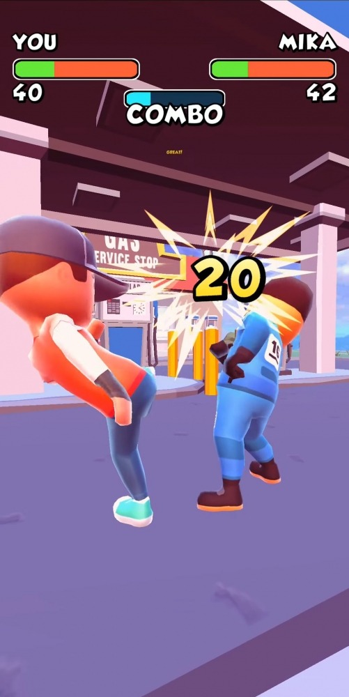 Swipe Fight! Android Game Image 3