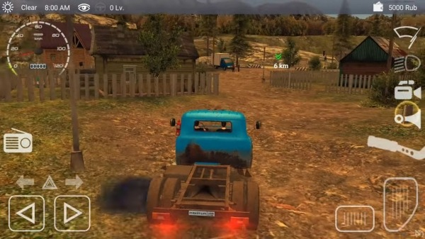 Russian Car Driver ZIL 130 Android Game Image 2