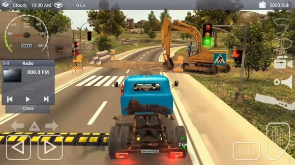 Russian Car Driver ZIL 130 Android Game Image 3