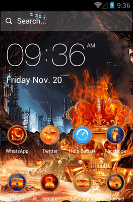 Skeletons Hola Launcher Android Theme Image 1