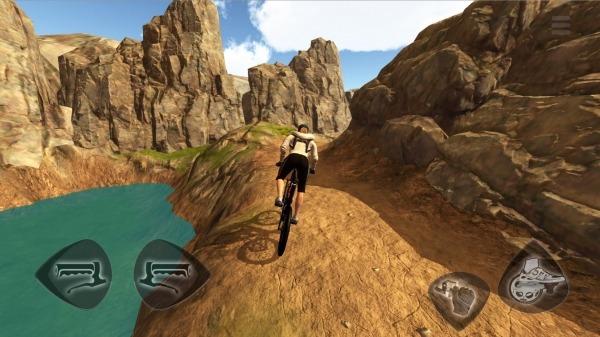 Mountain Bike Freeride Android Game Image 1