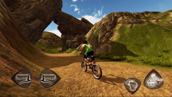 Mountain Bike Freeride Android Game Image 2