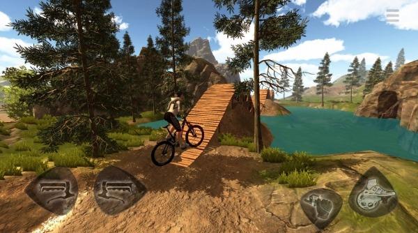 Mountain Bike Freeride Android Game Image 3