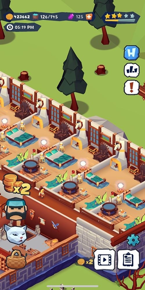 Idle Inn Tycoon Android Game Image 2