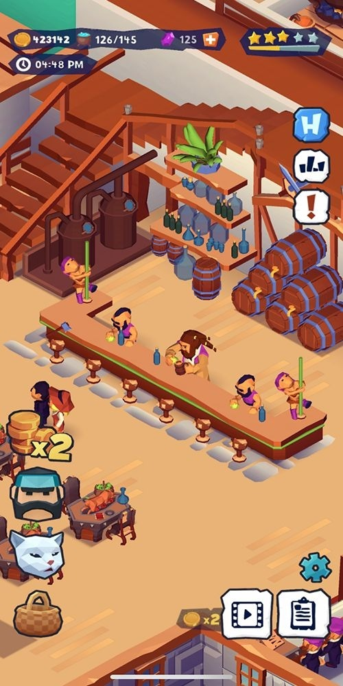 Idle Inn Tycoon Android Game Image 3