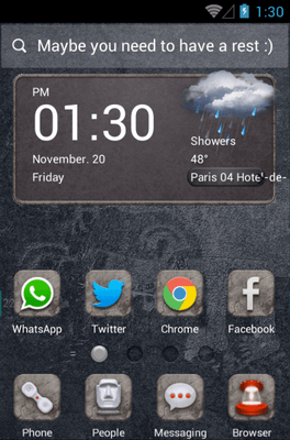 Long Long Ago Hola Launcher Android Theme Image 1