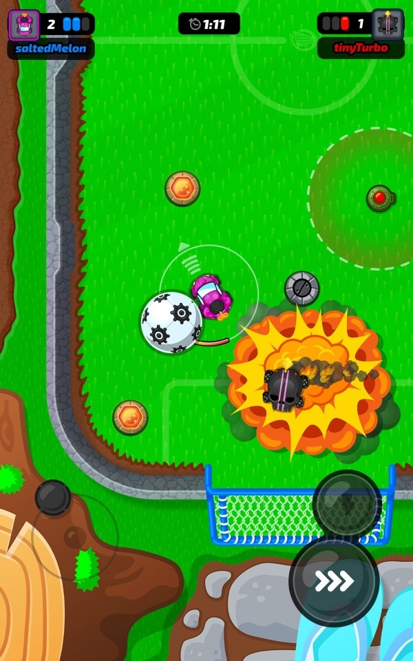 Motorball Android Game Image 3