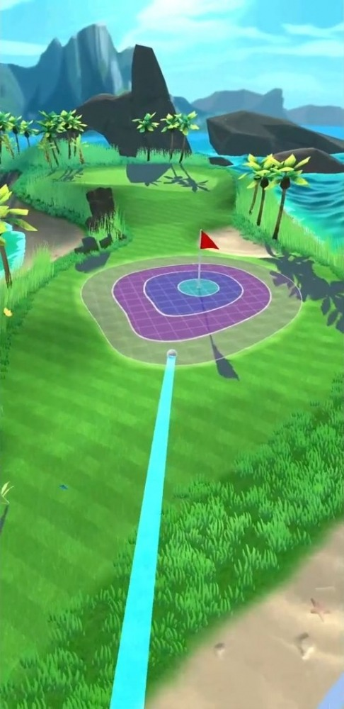 Super Shot Golf Android Game Image 1