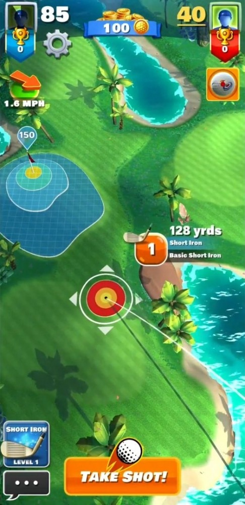 Super Shot Golf Android Game Image 2