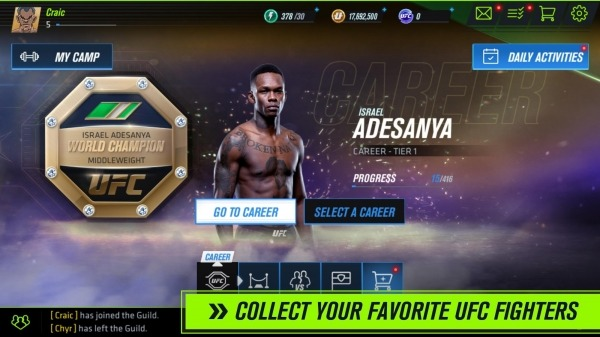 UFC 2 Mobile Android Game Image 1