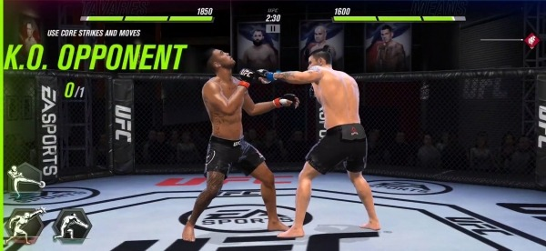 UFC 2 Mobile Android Game Image 2
