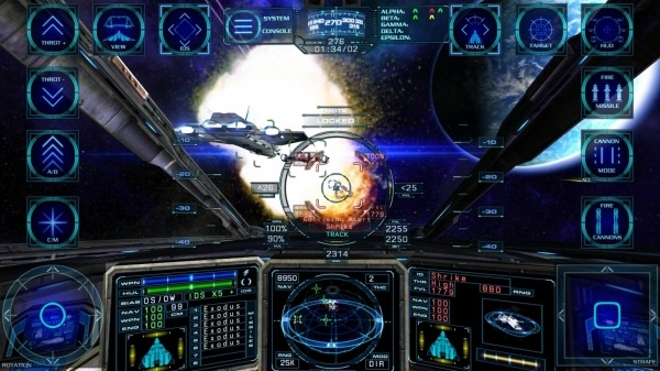 Arvoch Space Combat Android Game Image 1