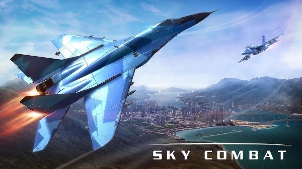 Sky Combat: War Planes Online Simulator PVP Android Game Image 1